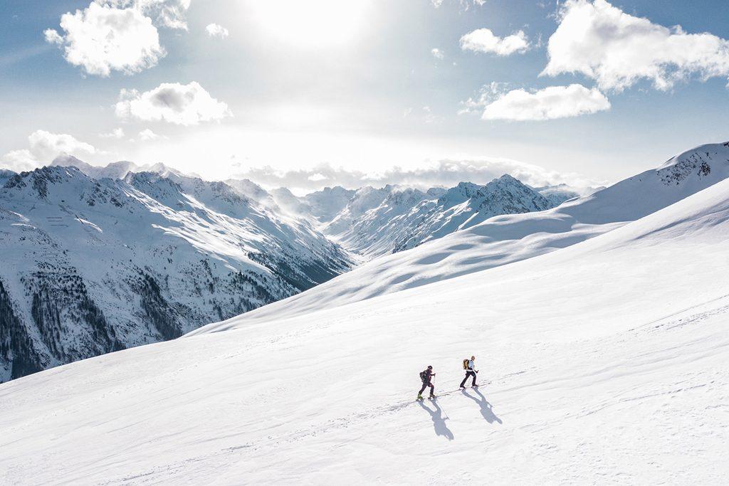 Ski na montanha
